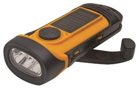 soladyne solar waterproof flashlight flashlights