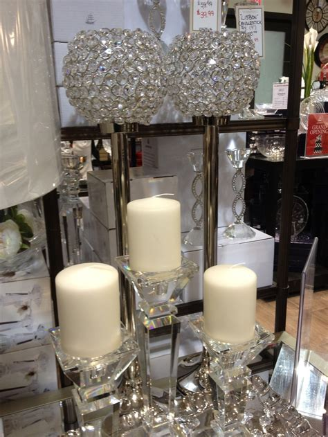 beautiful crystal candle holders    bowring