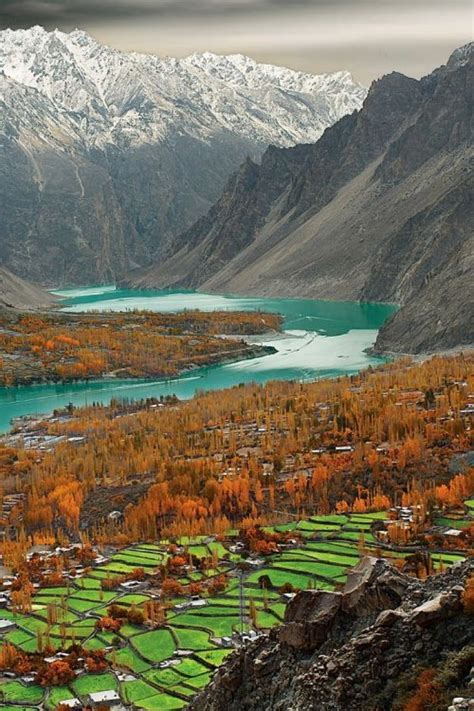 beautiful landscape  pakistan