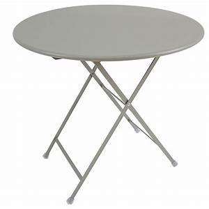 Table Exterieur Ronde : table exterieur ronde maison design ~ Teatrodelosmanantiales.com Idées de Décoration