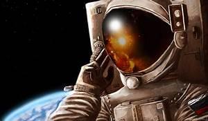 #astronaut, #Russian, #space, #Earth | Wallpaper No ...