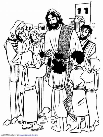 Jesus Coloring Pages Slideshare Books Timeline Cartoon