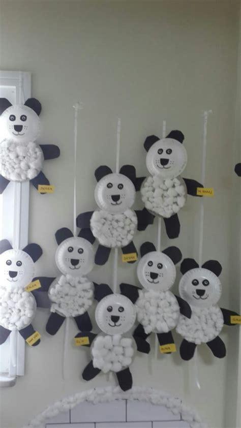 paper plate panda craft crafts  worksheets