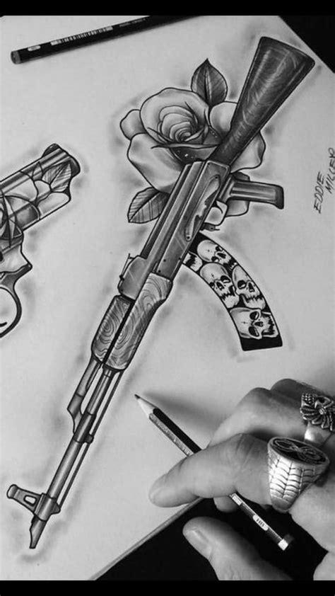 drawing ideas #ganstertattoos in 2020 | Tattoo art