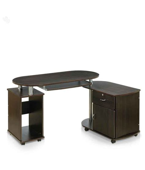 Trusted brands like flipkart perfect homes, nilkamal, ebee, captiver and induscraft have office desks in different types, sizes and materials to fit your needs. Royal Oak Cathy Computer Table - Buy Royal Oak Cathy ...
