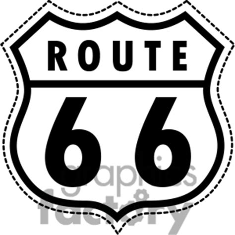 Free Route 66 Images Pictures And Royalty Free Stock Route 66 Sign Clipart Clipart Suggest