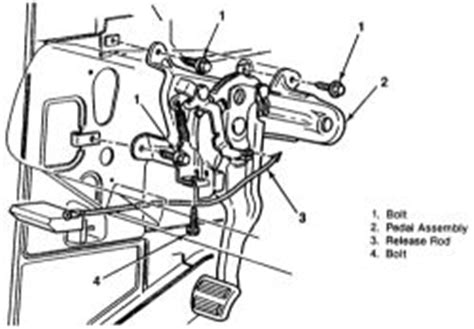 Repair Guides Parking Brake Pedal Assembly