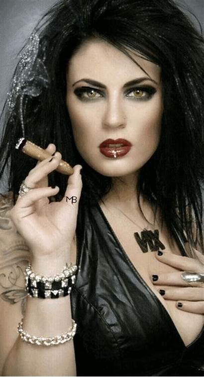 Smoking Cigar Cigars Lady Mistress Smoke