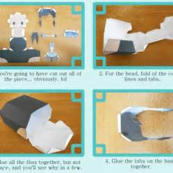 How To Put Together A Chibi Doll By Piercepapercraft