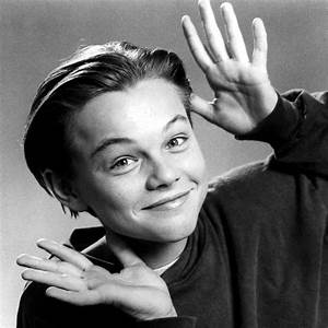 Pin Leonardo Dicaprio Young Black And White on Pinterest