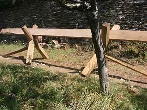 Chevalet Coupe Bois : bricolage chevalet de tron onnage bois ~ Premium-room.com Idées de Décoration