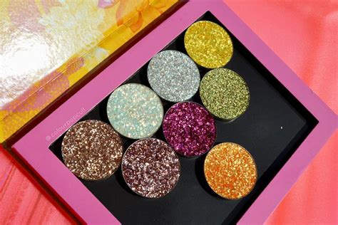 NEW ColourPop Festival Pressed Glitters & More! Swatches, Preview Here