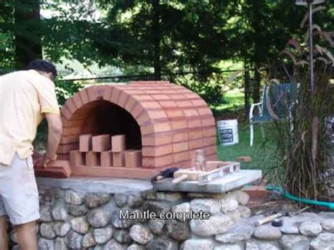 houses blueprints brick pizza oven