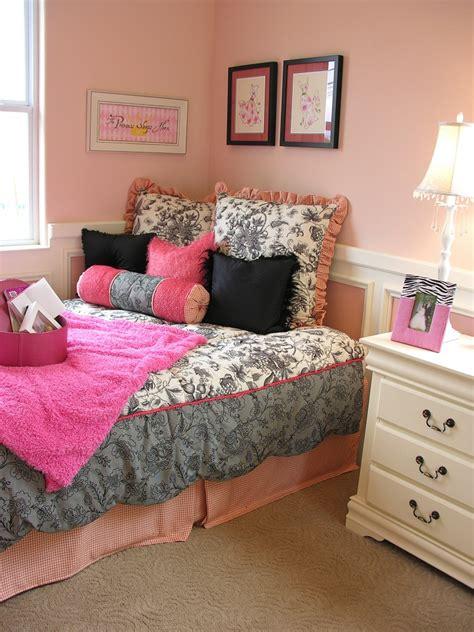 bedroompink  grey teenage girl bedroom decorating