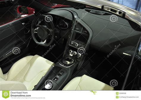 Super Sport Car Interior Royalty Free Stock Image