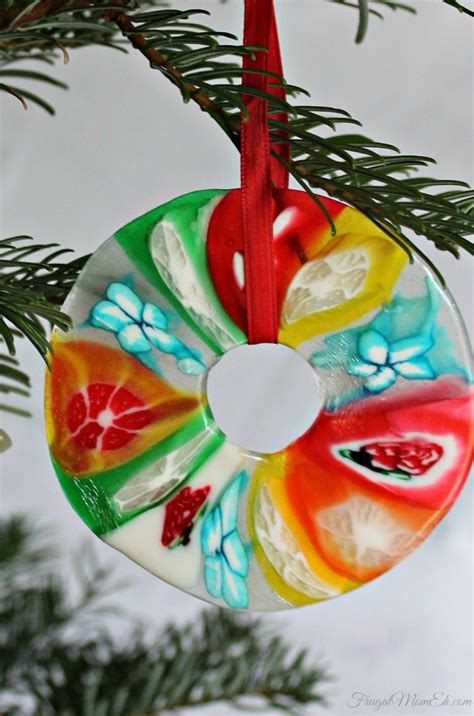 Christmas Candy Ornaments  Frugal Mom Eh