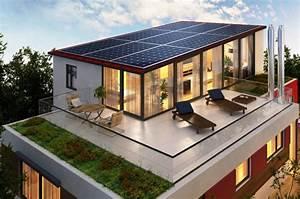 Maison Ossature Bois Toit Plat : plan de maison ossature bois a toit plat id es de travaux ~ Melissatoandfro.com Idées de Décoration