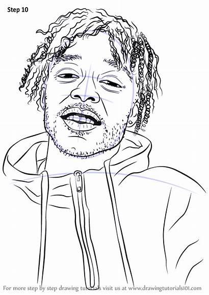 Lil Uzi Vert Drawing Draw Coloring Rappers