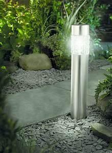 solarlampe led solarleuchte wegeleuchte xxl 53cm edelstahl With französischer balkon mit solarleuchte bewegungsmelder garten