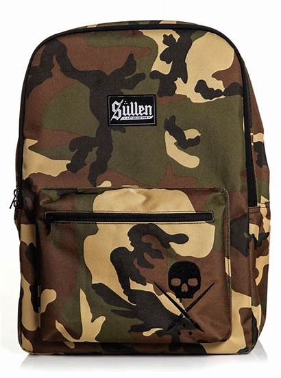 Backpack Standard Issue Camo Sullen Urban Tattoos