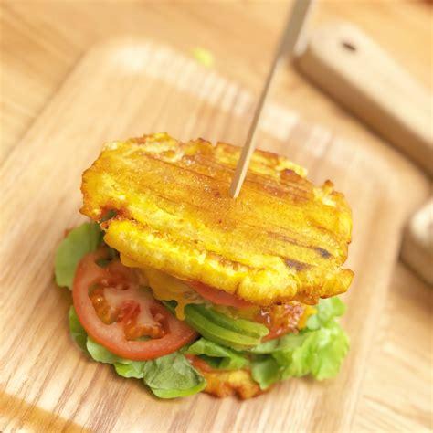 cuisine banane plantain burger de banane plantain je cuisine créole