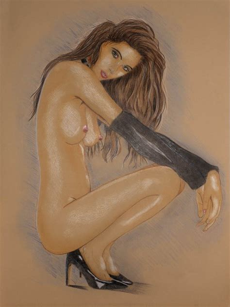 Squatting Girl Erotic Art Literotica Com