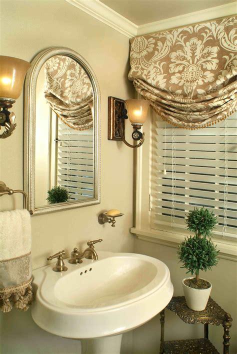 half bath small window curtains bathroom window