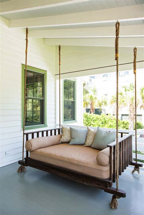 bed porch swing 27 absolutely fabulous outdoor swing beds for summertime