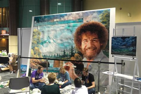 The Story Behind Twitchcon's Giant Bob Ross
