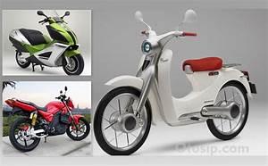 2018 Diprediksikan Sepeda Motor Listrik Honda Masuk