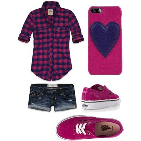 Pink-Tomboy outfit-shoes-shorts-plaid shirt | Summer time sadness | Pinterest | Tomboy Outfits ...