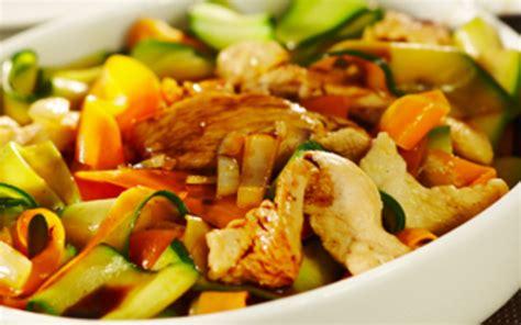 recette de cuisine courgette recette carottes et courgettes sauce curry pas chère et
