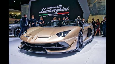 Lamborghini Aventador Svj Roadster & Lamborghini Huracan