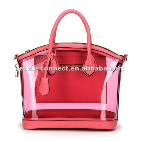 designer clear tote bags new design clear handbag buy clear handbag
