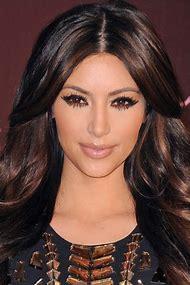 Dark Brown Hair with Black Highlights