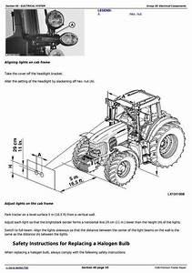 Deer 7330 Premium 2wd Or Mfwd Usa Tractors Repair Manual