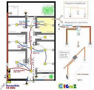 Plano Electrico De Una Casa Esquemas Electricos In 2018