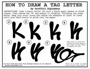 Lessons on how to write graffiti- learn graffiti letter ...