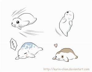 Chibi Seals by Kurin-Chan on DeviantArt