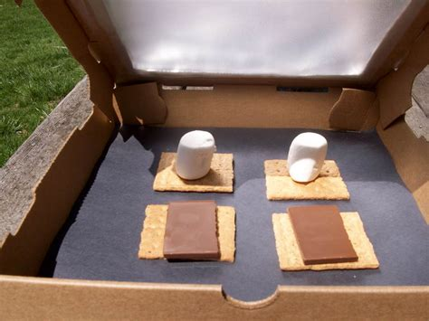 making  solar oven  students   blind