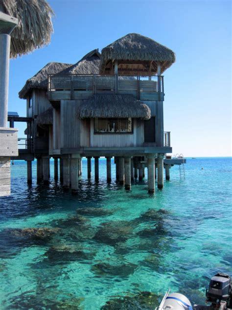 Tiki Hut Resorts - paradise tiki bora bora tiki huts mohnicah