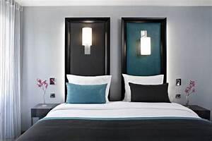 Deco Chambre Ami : d co chambre d 39 invites exemples d 39 am nagements ~ Melissatoandfro.com Idées de Décoration