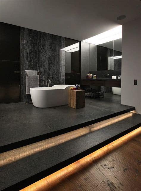 Stilvolle Und Mutige Badgestaltung In Schwarz by Stilvolle Und Mutige Badgestaltung In Schwarz Badezimmer