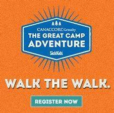The Great Camp Adventure for Sick Kids. - Ideally speaking...