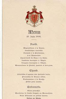 Traduction Carte Restaurant Italien by Menu Restauration Wikip 233 Dia