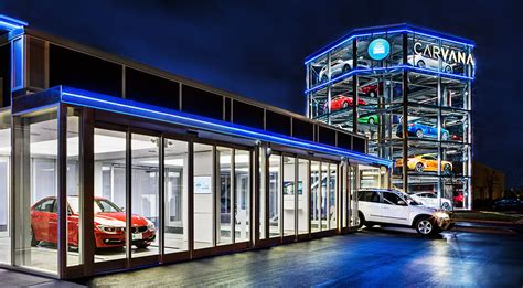Carvana Car Vending Machine Hiconsumption