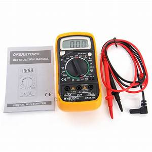 Lap Mas830b Digital Multimeter 600v Instructions
