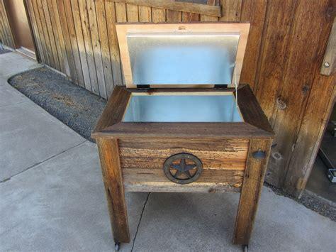 woodwork cowboy ice chest plans  plans