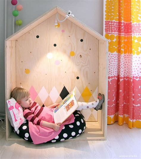 cool indoor playhouse ideas  kids hative