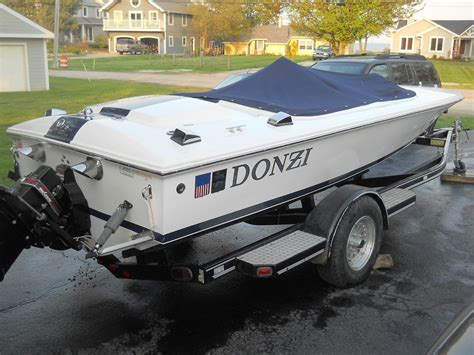 Donzi Boat Exhaust by Donzi Classic 18 1995 For Sale For 24 000 Boats From